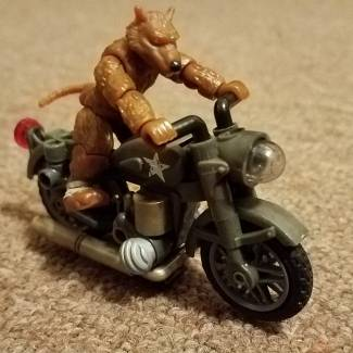 Splinter and the Motorcycle