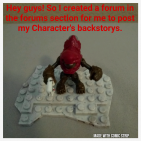 My characters backstorys