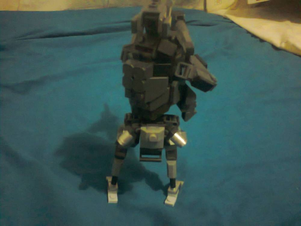 Image of: CUSTOM MEGA CONSTRUX BUILDER TITANFALL HEAVY GRAPPLE