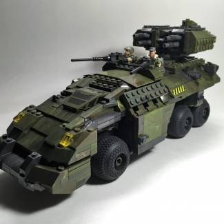 Image of: UNSC Kodiak APC