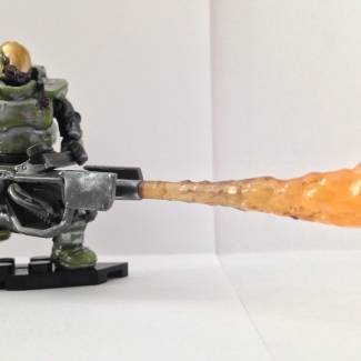 Image of: Entry for Spartanz19 Paint Contest (Halo Wars 2 Flame Marine)