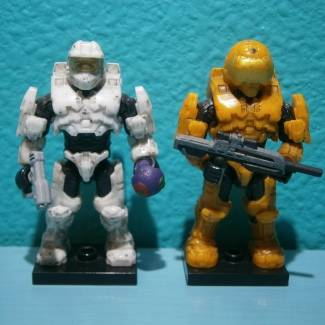Image of: Halo 3 Spartans
