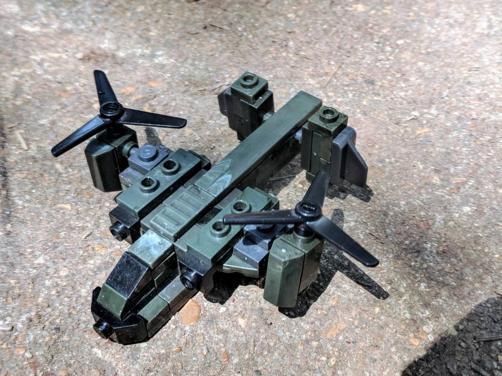 Image of: Micro Fleet UNSC Nightingale from Halo Wars 2