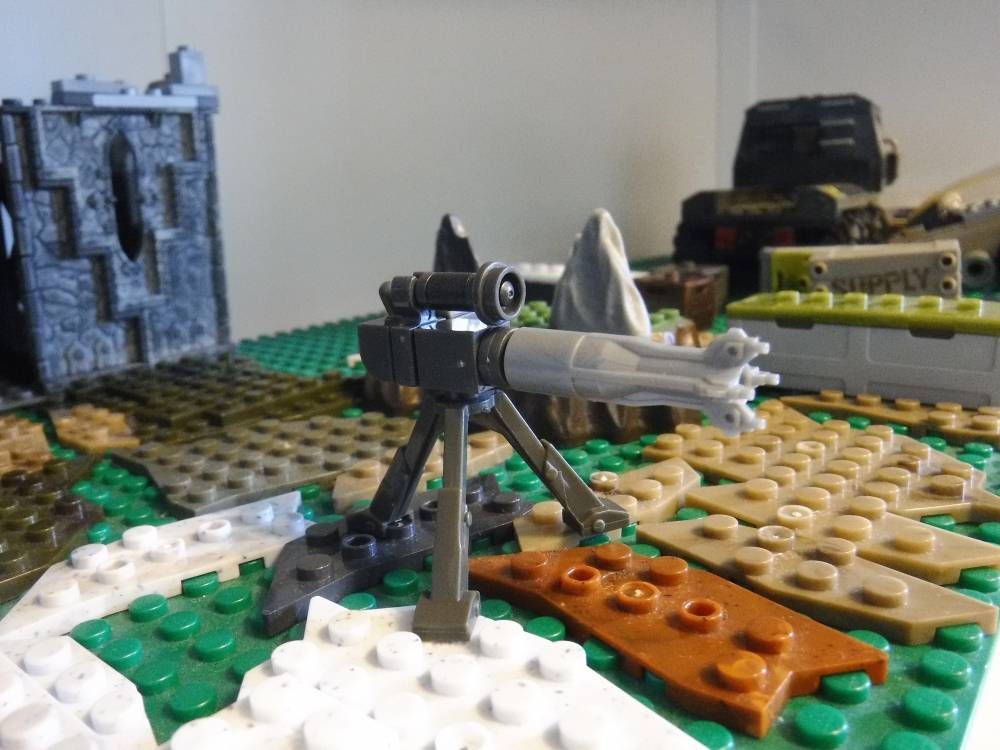 Image of: Mounted mini Turret