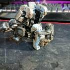 Custom (battle worn) Mech walker