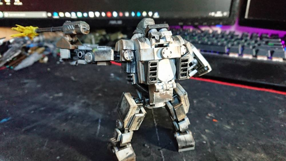 Image of: Custom (battle worn) Mech walker