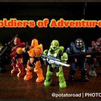 Image of: I'm back! Soldiers of Adventure