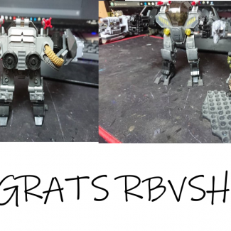 Image of: Mech Building Contest Winner