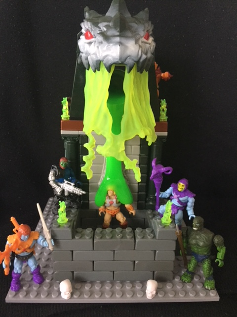 Image of: Custom Masters of the Universe Slime Pit