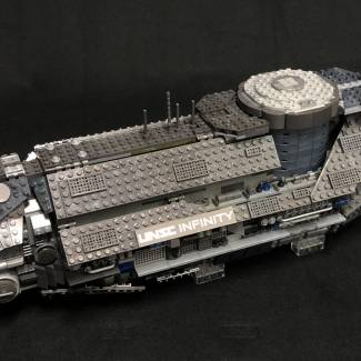 Image of: Scratch-Built MCX UNSC Infinity