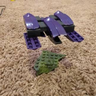 Build Challenge #1 – Micro Building: Vehicle – Gargoyle Fighter