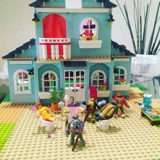 Tmnt party house