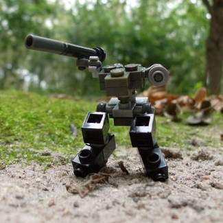 Image of: Build Challenge #1 – Micro Building: Vehicle – Metal Gear