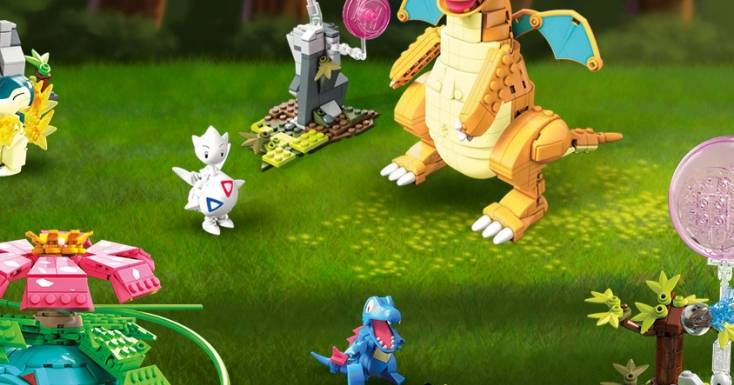 Build epic Pokémon battles with all-new Mega Construx™ building sets!