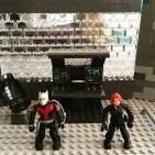Image of: Antman and Black Widow