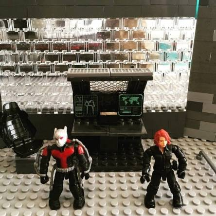 Antman and Black Widow
