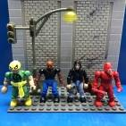 Marvel mega bloks the Iron Fist and the Defenders