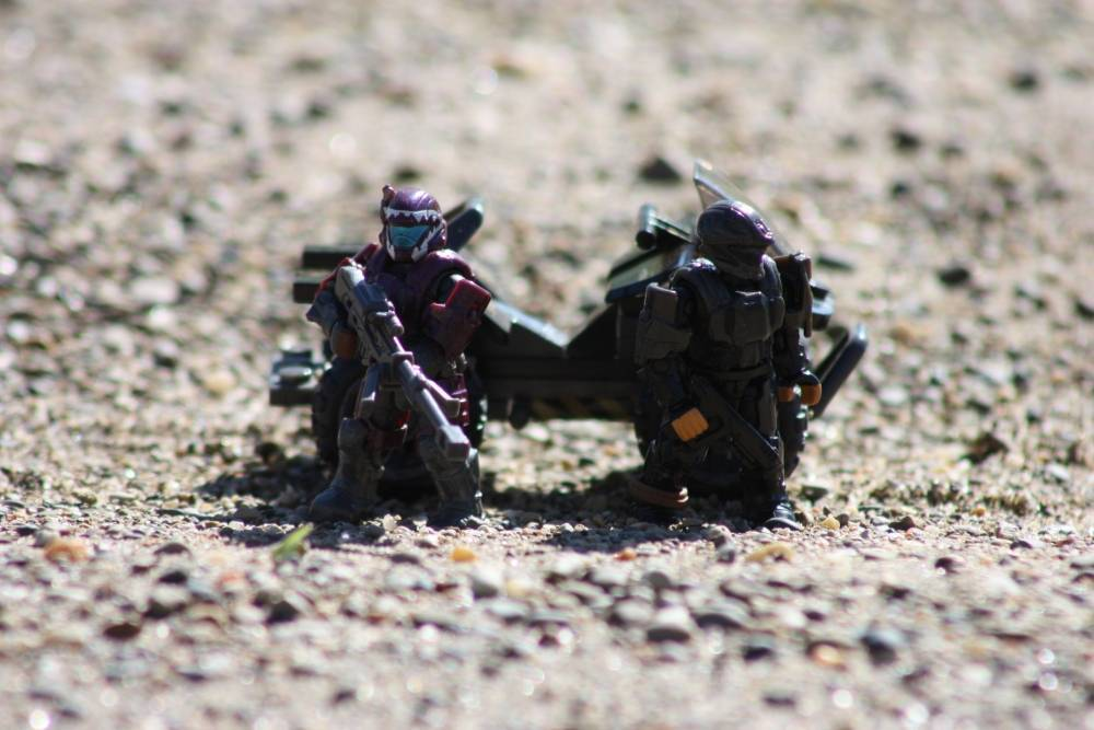 Outdoor ODST's: Fields of Sand