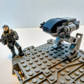 Image of: Build Challenge #1 – Micro Building: ED-209