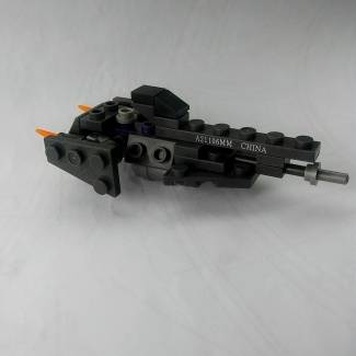 Image of: My First Micro Build (UNSC frigate)