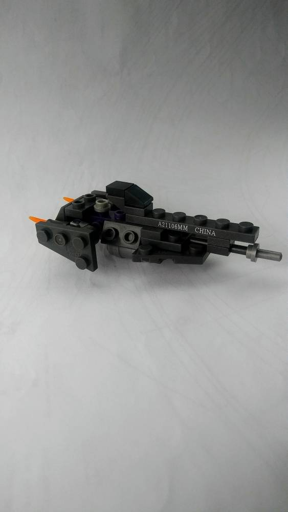 My First Micro Build (UNSC frigate)