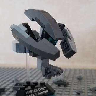 Image of: Build Challenge #1 – Micro Building: Vehicle – Halo 3 Sentinel