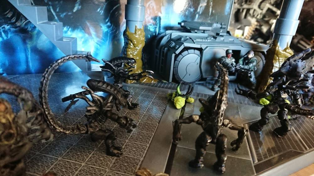 Image of: aliens lv426 display