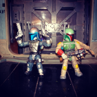 Chibi anime version (Boba Fett - Jango Fett )