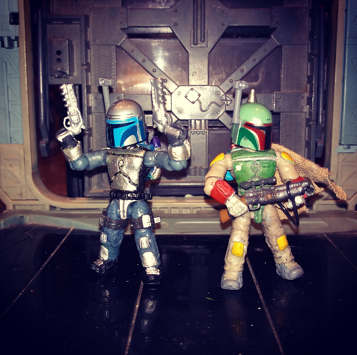 Image of: Chibi anime version (Boba Fett - Jango Fett )