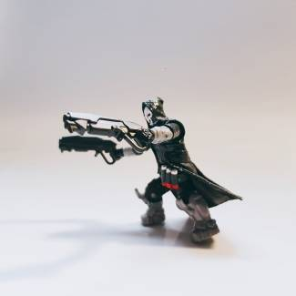 Image of: Custom Figure Overwatch Reaper