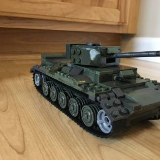 Image of: Cromwell mkIV cruised tank