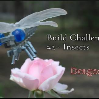 Build Challenge #2 – Insects – Dragonfly
