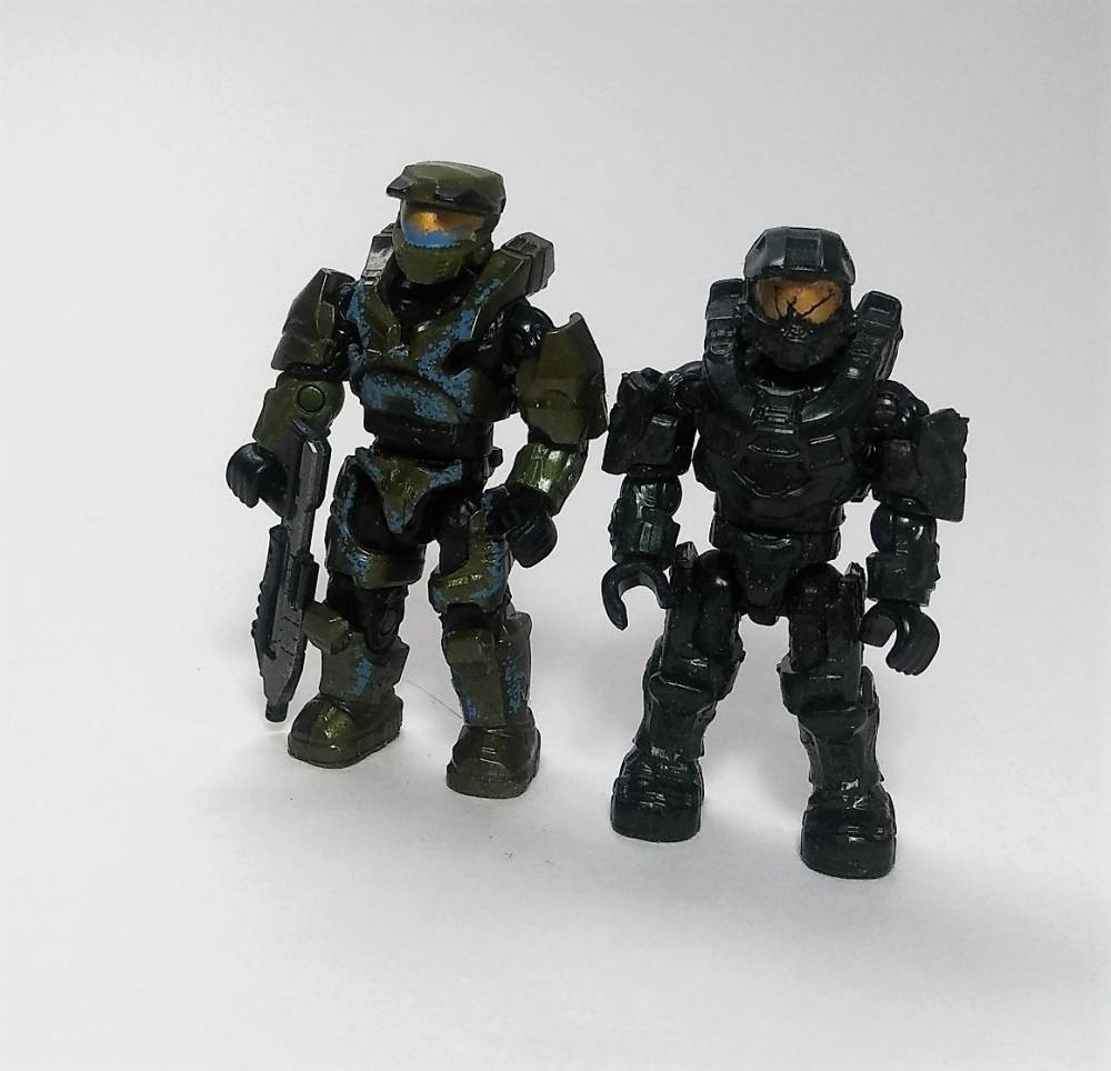 "Halo Heroes Series 7 ""Yrkanne"" Chief"