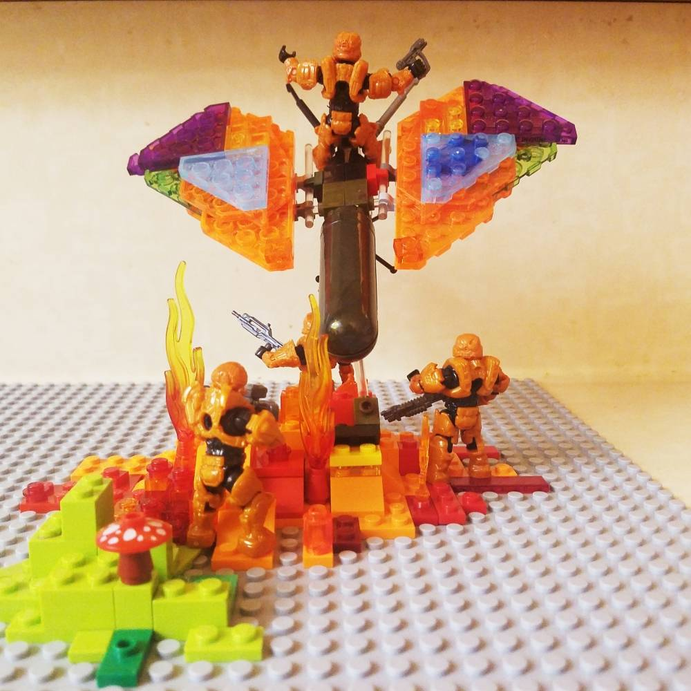 Image of: Build Challenge #2 – Creepy Crawlers – Butterfire