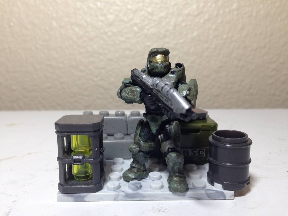 Image of: JoeFilms Customs: Master Chief (remastered)