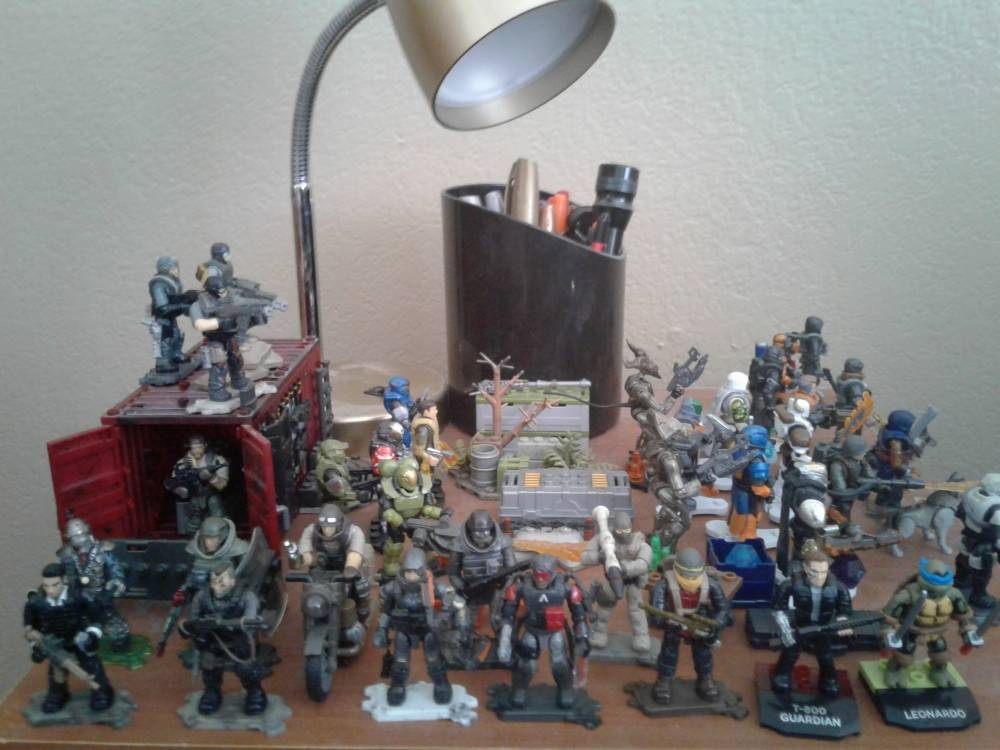 Image of: The rest of my collection