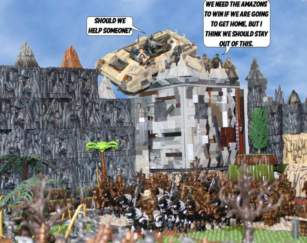 Image of: War of the Gods part thirty two