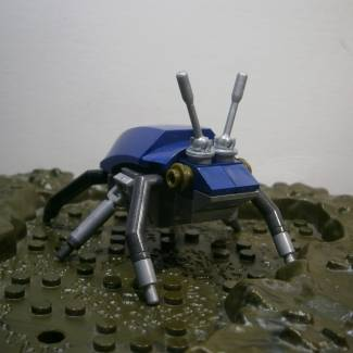 Image of: Build Challenge #2 – Creepy Crawlers – Scarab