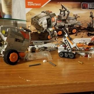 Image of: Space Rover Probuilder