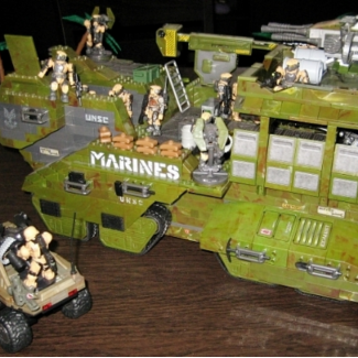 Image of: MB Halo UNSC War Elephant custom