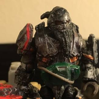 Image of: Custom Atriox Figure