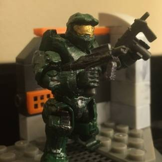 Image of: Custom Mk. VI Master Chief Armor