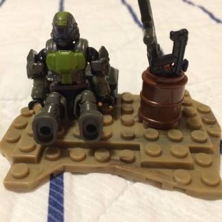Image of: Custom set ODST booster pack