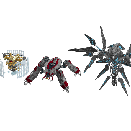 Image of: The collection of all my models from the Halo and Destiny universes and Future plans