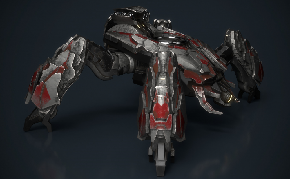 Image of: Halo Wars 2 Banished Scarab and Infused Scarab