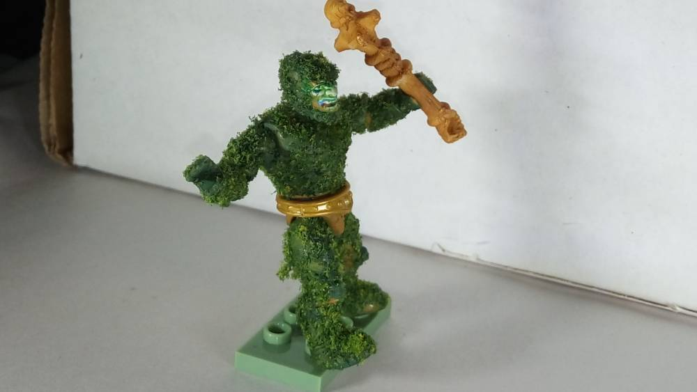 Image of: Moss Man -- The Pine Fresh Beast Man