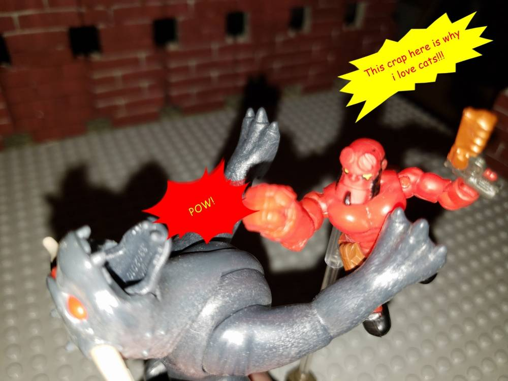 Image of: Hellboy thingy