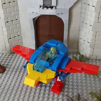 Image of: Custom MOTU Talon Fighter