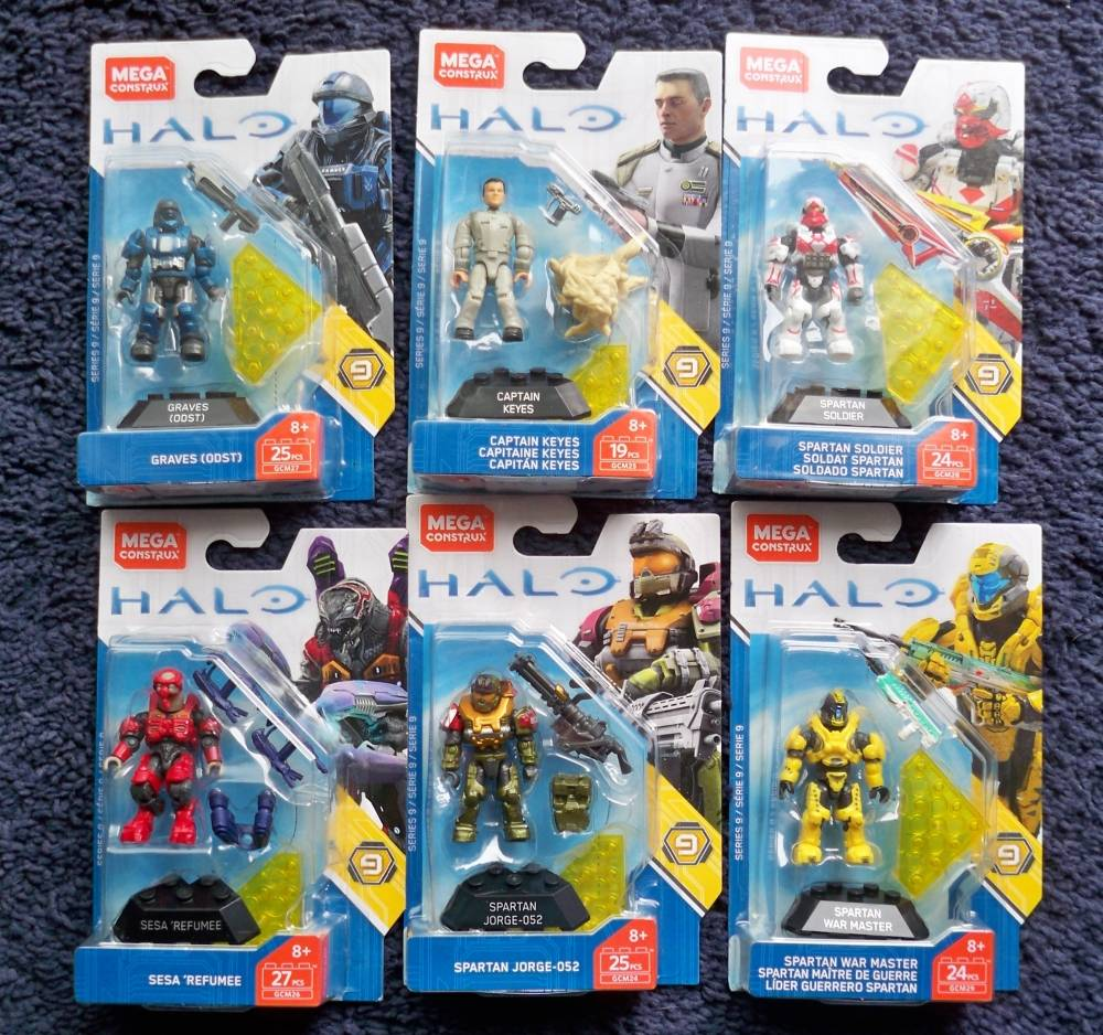 Image of: Halo Heroes Series 9 found at retail