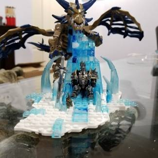 Image of: The Lich kings throne.
